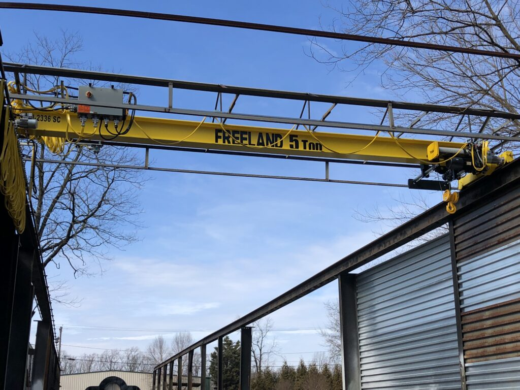 Hoist and Crane Services at Freeland Hoist & Crane, Inc.