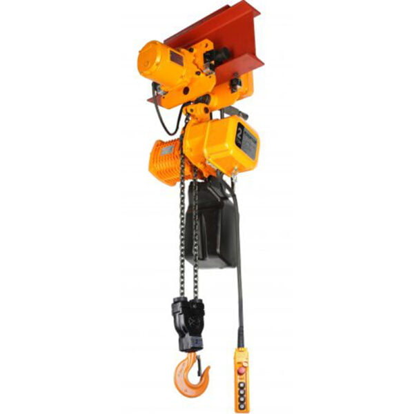 Accolift CLH Electric Chain Hoist with Motorized Trolley at Freeland Hoist & Crane, Inc.