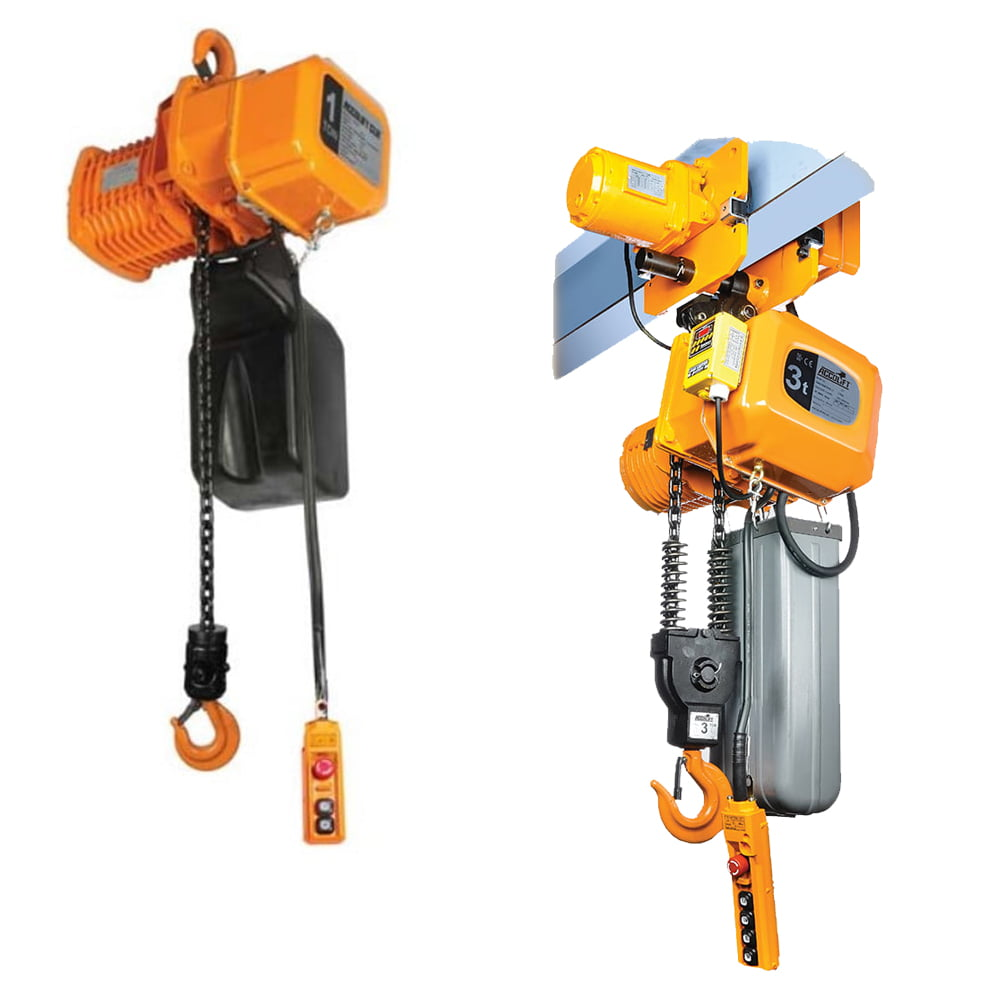 Electric Chain Hoists & Trolleys at Freeland Hoist & Crane, Inc.