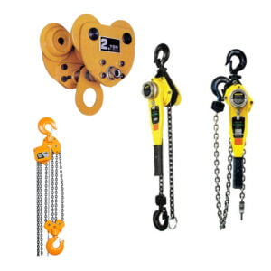Manual Hoists, Trolleys, & Clamps