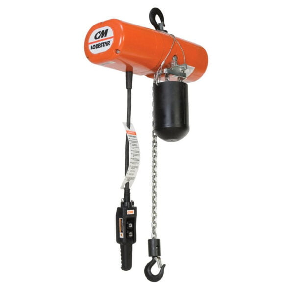 CM Lodestar Classic Electric Chain Hoist with Rigid Hook Suspension at Freeland Hoist & Crane, Inc.