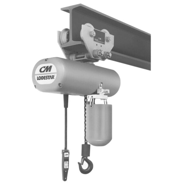 CM Lodestar Low Headroom Trolley at Freeland Hoist & Crane, Inc.