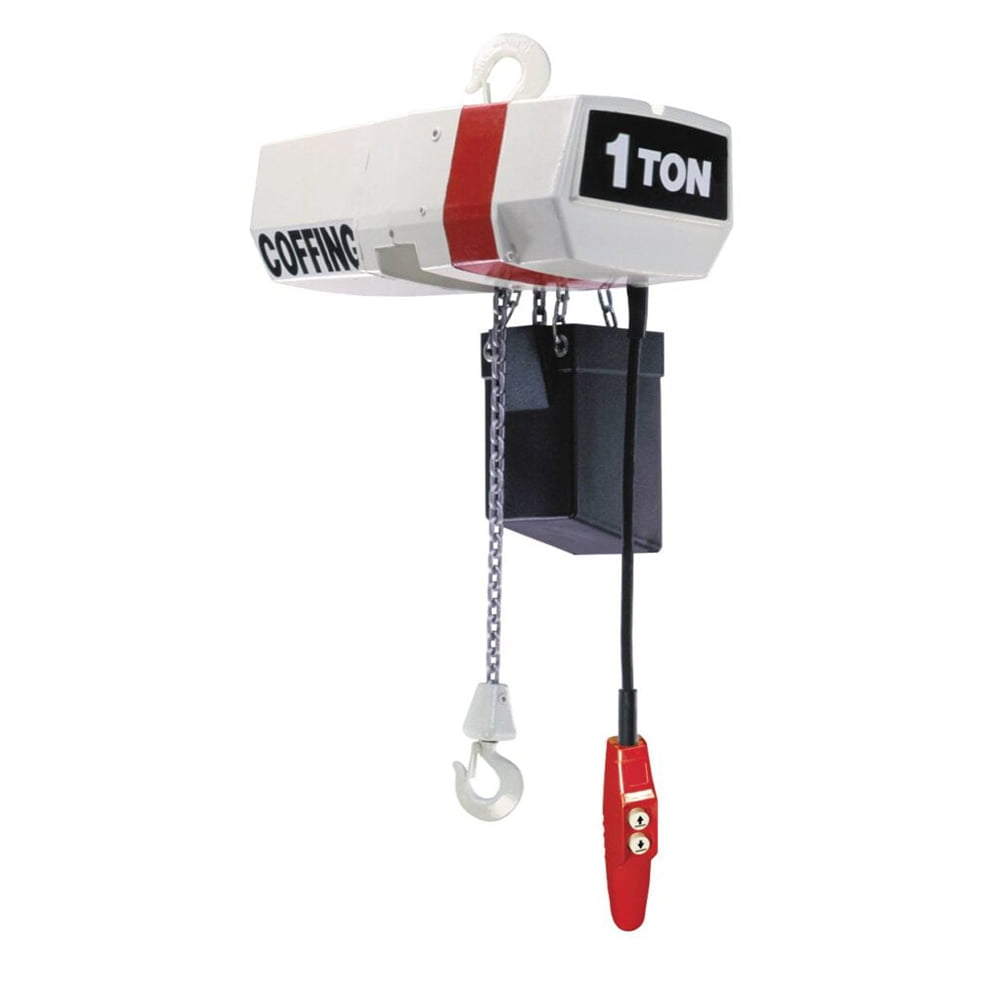 Single Phase Hoist Crane 20ft Lifting Height VEVOR Electric Chain Hoist 4400lbs Capacity Electric Chain Lift Hoist w//Swivel Hook and Remote Control 2T Industrial Chain Hoist G80 Double Chain