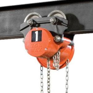 CM Cyclone Low Headroom Geared Type Trolley Hoist